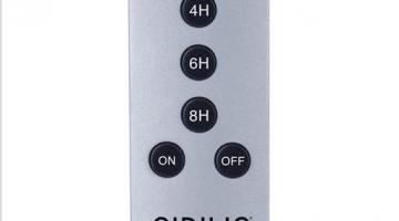 Diaľkový ovládač k Sirius výrobkom