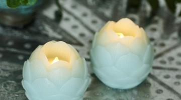 Led sviečky mätové