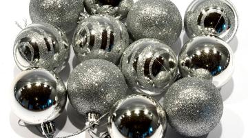 Vianočné ozdoby gule - priem. 5cm