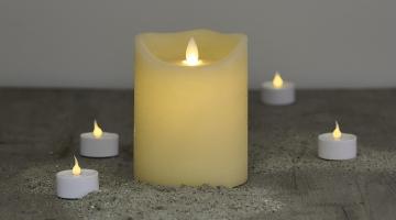 LED sviečka Exclusive 12