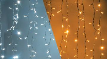 LED svetelný záves - 1x3m