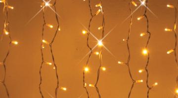LED svetelný záves - FLASH