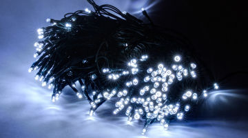 LED svetelná reťaz 20m- 100diód s trafom