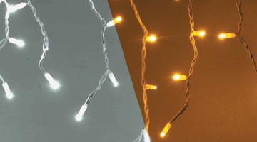 LED svetelné cencúle - 3x0