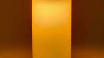LED vosková sviečka 15cm x 7