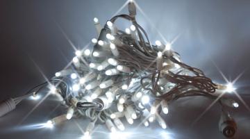 LED svetelná reťaz IP44- FLASH