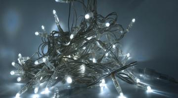 LED svetelná reťaz - interiér