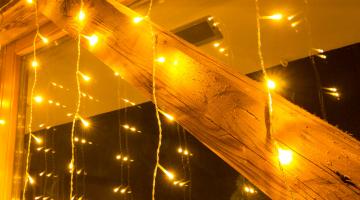 LED svetelný záves 2x2m