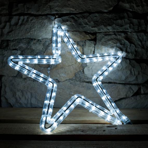 LED svetelný motív - hviezda 70cm