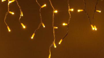 LED svetelné cencúle IP44 - 3x0