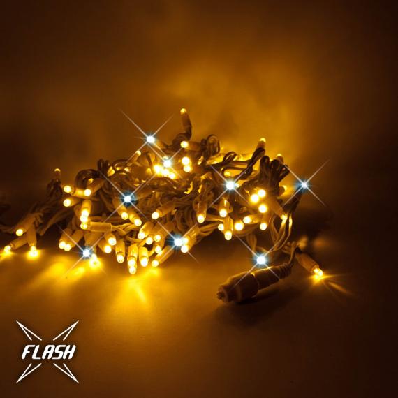 LED svetelná reťaz - FLASH