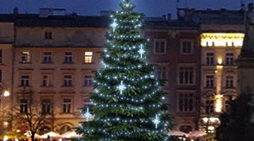 LED svetelná sada FLASH na strom 6-8m s dekormi EFD15S2