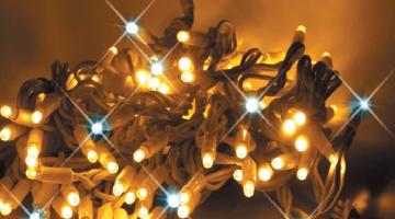LED svetelná reťaz IP44
