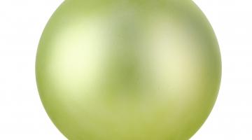 Zelená guľa matná