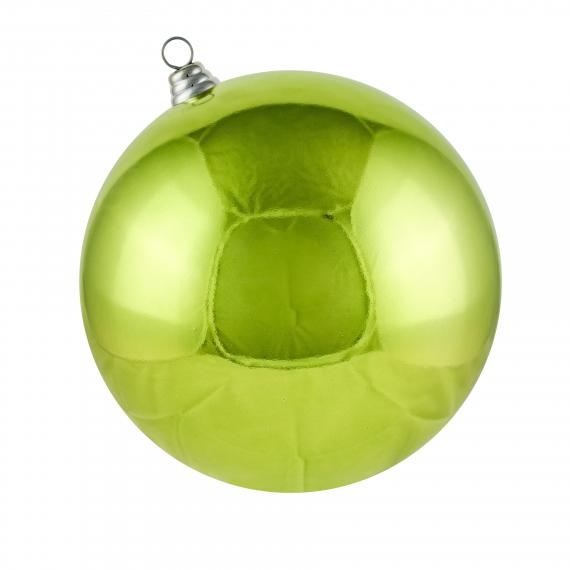 Zelená guľa lesklá
