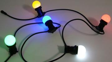 Girlanda s vymeniteľnými žiarovkami - 50m