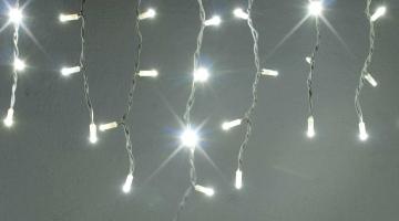 LED svetelné cencúle - FLASH