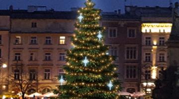 LED svetelná sada na strom 6-8m s dekormi EFD15S2