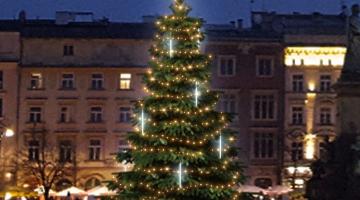 LED svetelná sada na strom 6-8m s padajúcim snehom