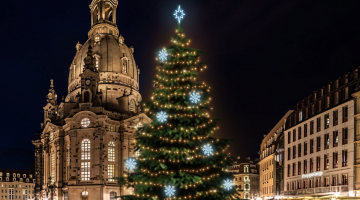 LED svetelná sada na strom 15-17m s dekormi 8EFD08