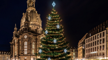 LED svetelná sada na strom 15-17m s dekormi EFD09S2