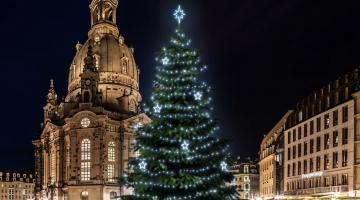 LED svetelná sada na strom 15-17m s dekormi EFD11