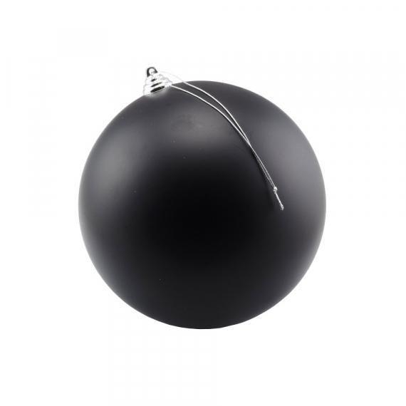 Čierna guľa matná