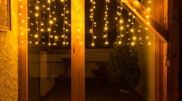 LED svetelný záves - 2x1m