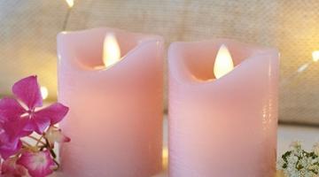 Voskové led sviečky mini