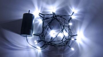 LED svetelná reťaz na baterky