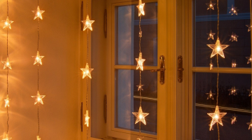 Svetelné hviezdičky nadpájateľné 1