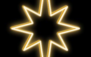 LED svetelná hviezda