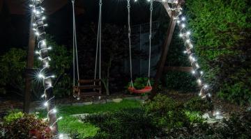 LED svetelná reťaz IP67- 20m