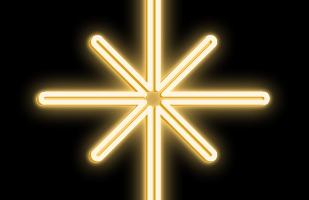 LED hviezda Polaris - 53 x 90cm