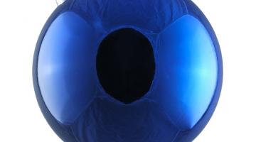 Modrá guľa lesklá